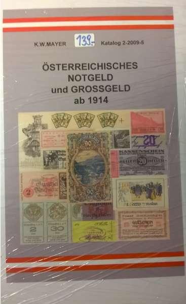 Mayer Österreichisches Notgeld ab 1914
