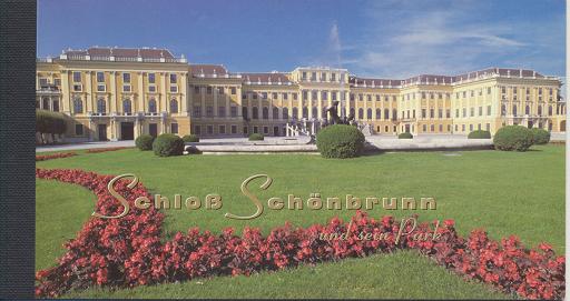 UNO Wien Markenheft Nr. 3 - Schloß Schönbrunn 1998 Postfrisch