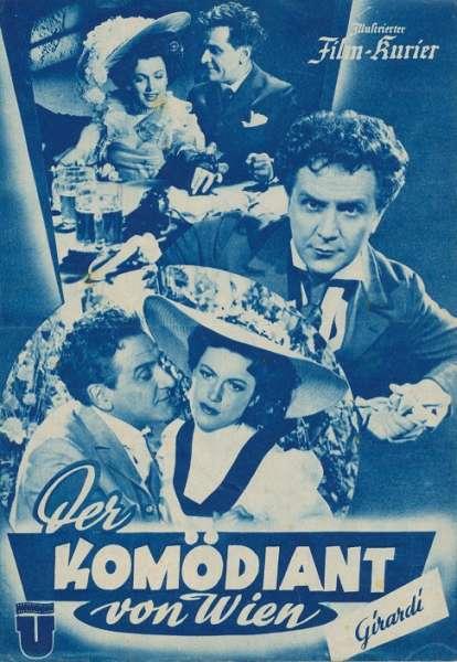 Der Komödiant von Wien Girardi Nr.1961 Illustrierter Film - Kurier