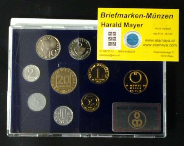 1989 Jahressatz Kursmünzensatz KMS Mintset
