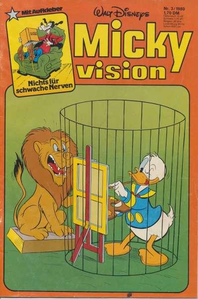 Mickyvision Heft Nr. 3/1980