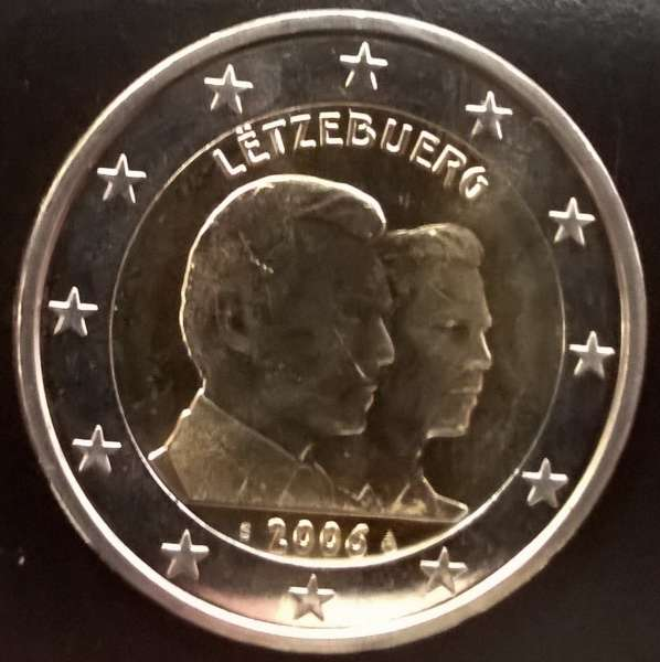 2 Euro Luxemburg 2006 Guillaume