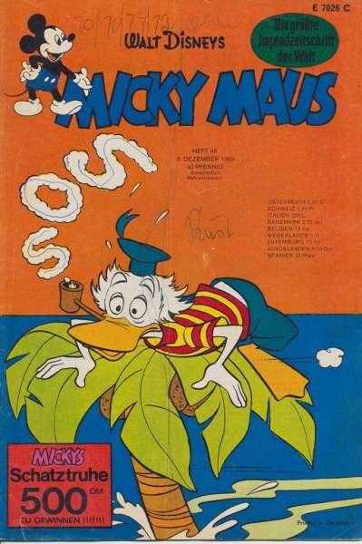 Micky Maus Nr. 49 / 1969