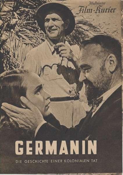 Germanin Die Geschichte einer Kolonialen Tat Nr.3333 Illustrierter Film - Kurier
