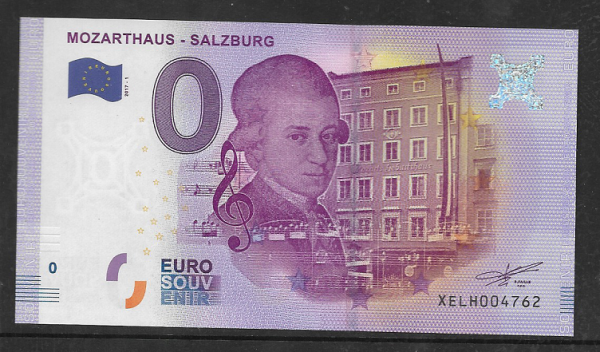 ANK.Nr.02 Mozrthaus Salzburg Unc 0 Euro Schein 2017-1