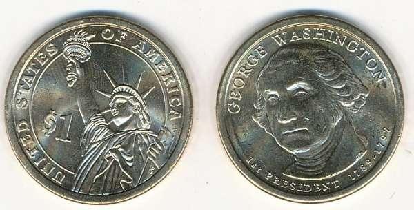 USA 1 Dollar 2007 D George Washington (1)