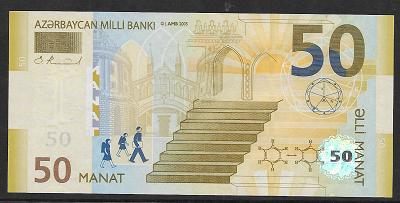 Azerbaycan – 50 Manat (2005) (P.29) Erh. UNC