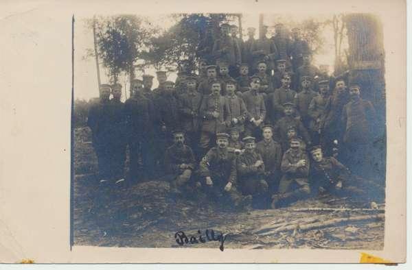 Soldatenfoto 1 Weltkrieg Gruppenfoto Feldpost