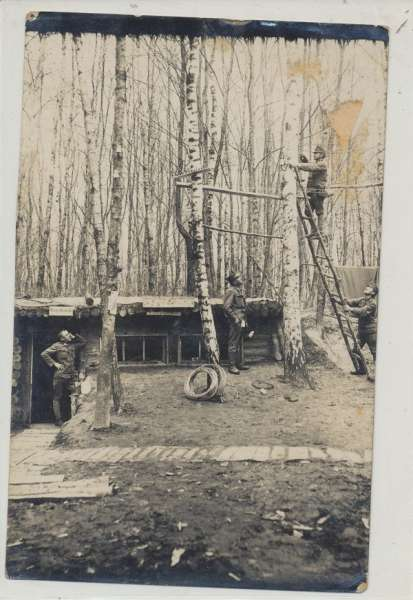 Soldatenfoto 1 Weltkrieg K&K Telefon Zentrale