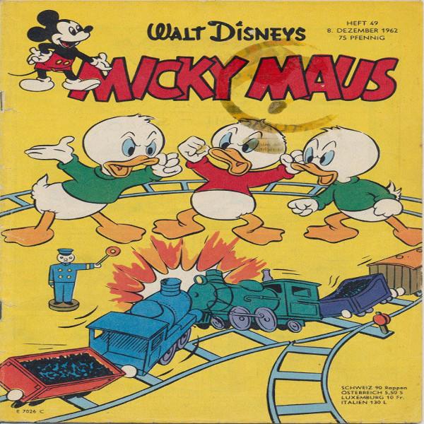 Micky Maus Nr.49/1962
