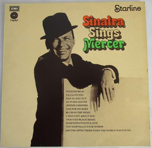 Sinatra Sings Mercer