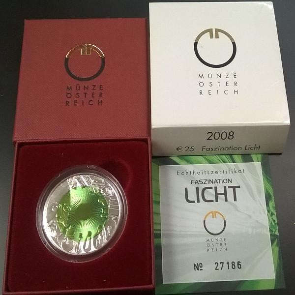 Wir Kaufen 25 Euro Niob Licht 2008