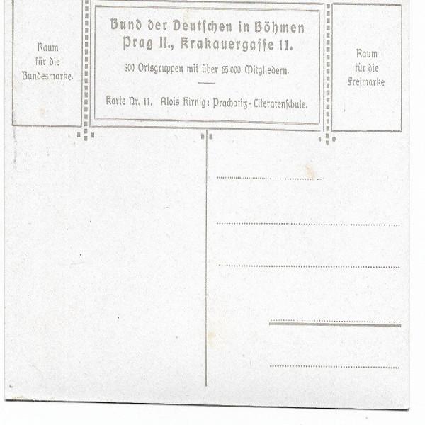 AK 1014 Bund der Deutschen in Böhmen 1894 Nr. 11