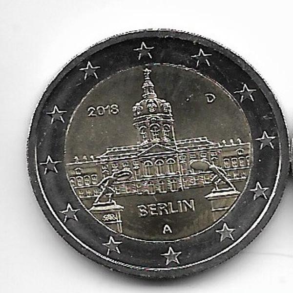 2 Euro Deutschland 2018 Berlin Charlottenburg