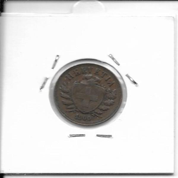 2 Rappen 1900 Schweiz