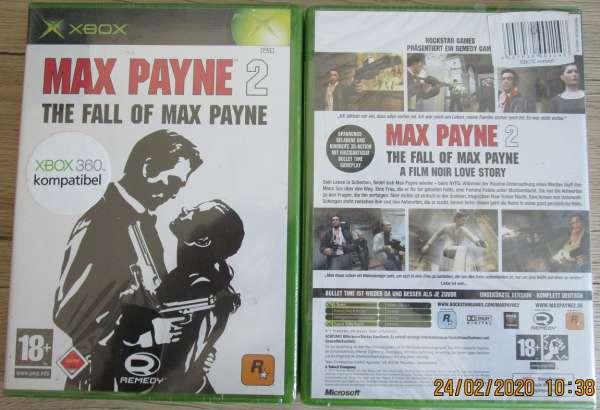 XBox Spiel Max Payne 2 The Fall of Max Payne Neu