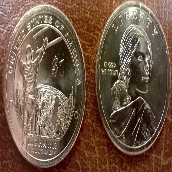 1 Dollar USA 2015 P Sacagawea - Nativ Dollar