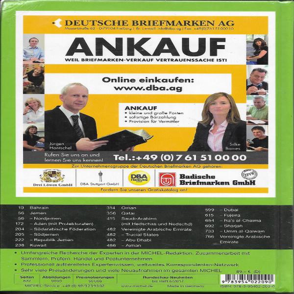 Michel Übersee Katalog Nr.10 Teil Süd und Zentralarabien 2017