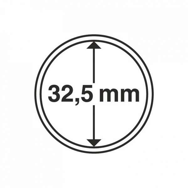MÜNZKAPSELN CAPS 32,5 MM, 10 ER PACK