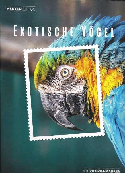 Exotische Vögel Marken Edition 20