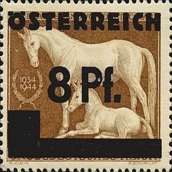 ANK Nr. 666 8 Pfennig Postfrisch