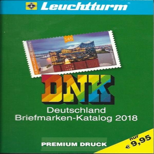 DNK Deutschland Briefmarkenkatalog 2018