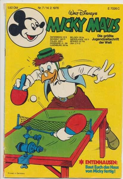 Micky Maus Nr. 7/1976