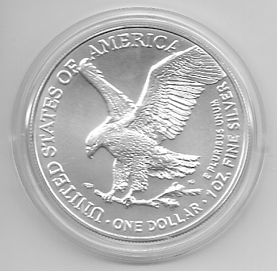1 Dollar Silber Eagle Unze 2021 Neues Motiv