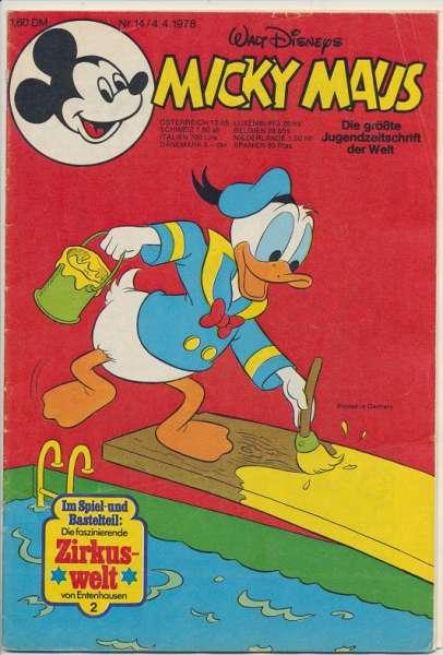Micky Maus Nr. 14/1978