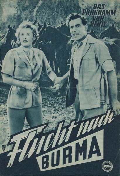 Flucht nach Burma Nr. 456 Das Programm von Heute
