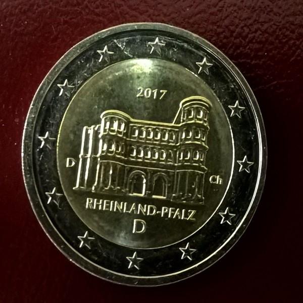 2 Euro Deutschland 2017 Rheinland Pfalz