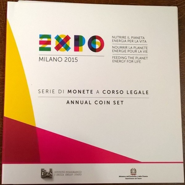 Italie KMS Set 2015 im Blister Expo