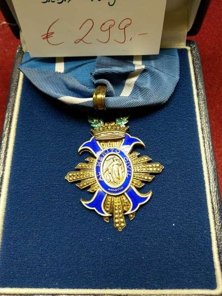 Spanien Zivilverdienstorden im Etui --Orden del Mérito Civil