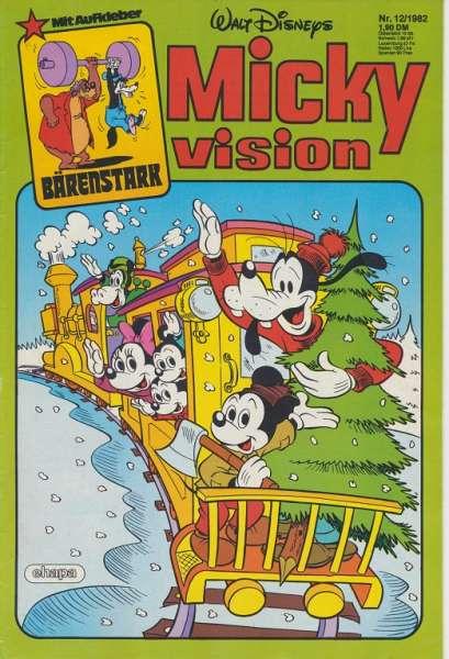 Mickyvision Heft Nr. 12/1982