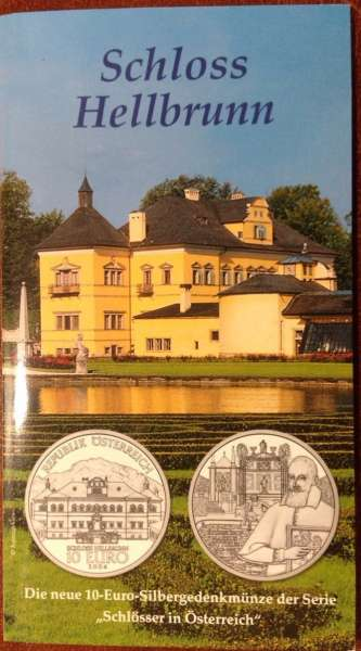 10 Euro Silber 2004 Schloss Hellbrunn HGH ANK Nr. 05