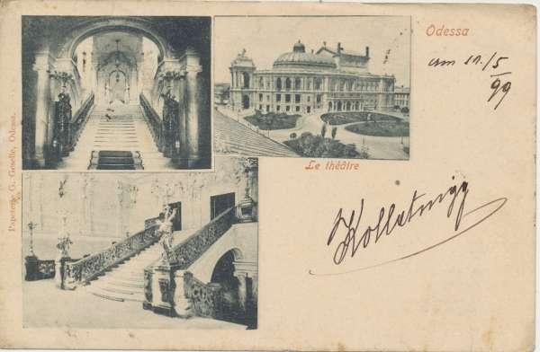 Odessa Le Theatre 1899