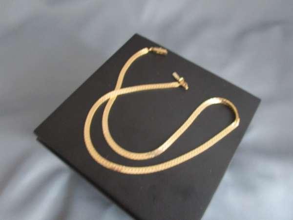 Schlange Goldkette 585 ca 12,1 Gramm 44,5 cm