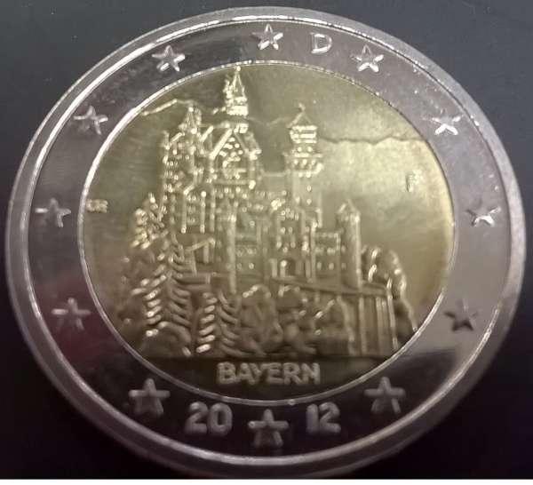 2 Euro Deutschland 2012 Bayern