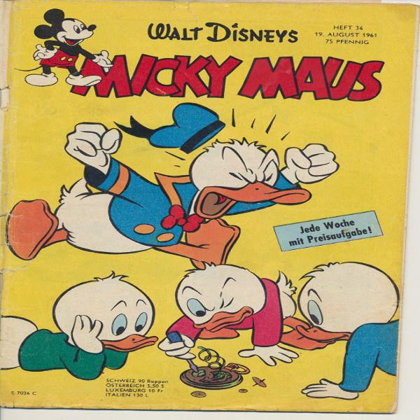 Micky Maus Nr.34/1961