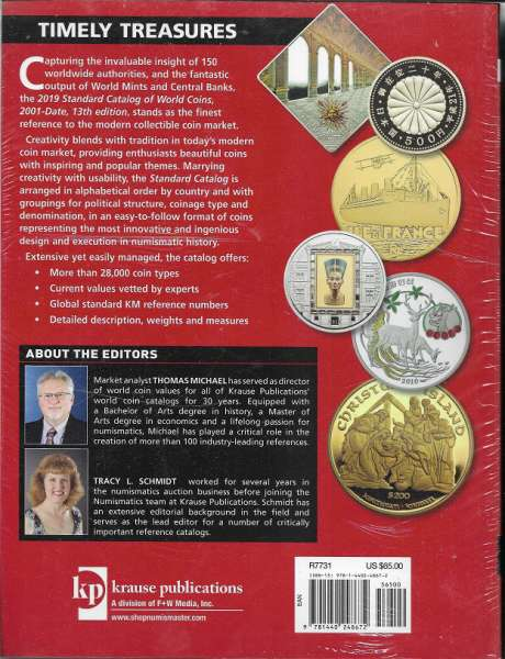 2019 Standard Catalog of World Coins 2001- Present 1 th Edition
