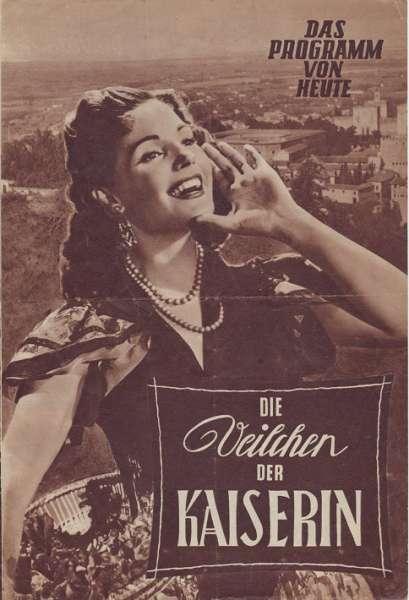 Die Veilchen der Kaiserin Nr.338-1955 Das Programm von Heute
