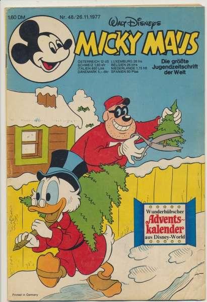 Micky Maus Nr. 48/1977
