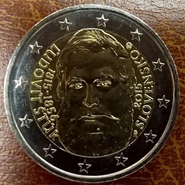 "2 Euro Slowakei 2015 ""Ludovit Stur"""