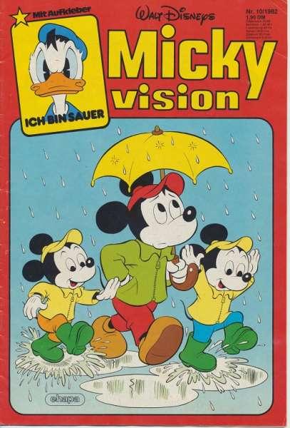Mickyvision Heft Nr. 10/1982