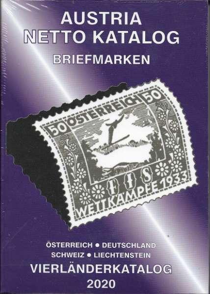 ANK 4 Länderkatalog Briefmarken 2020