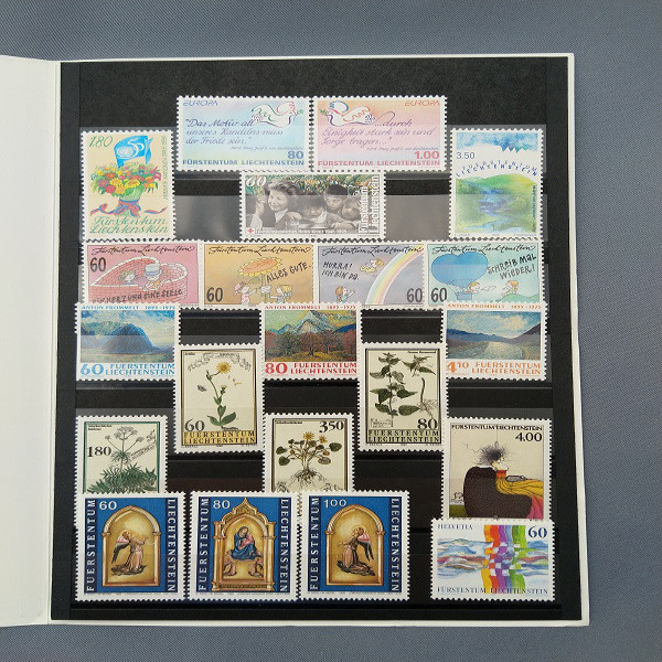 Liechtenstein 1995 Jahresmappe postfrisch