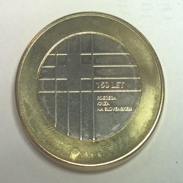 3 Euro Slowenien 2016 150 Jahre rotes Kreuz
