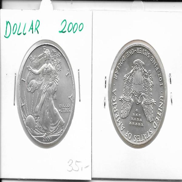 1 Dollar Silber Eagle Unze 2000