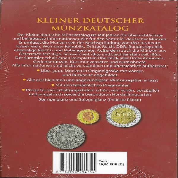 Kleiner Deutscher Münzkatalog von 1871 bis Heute Battenberg 2019 49.Auflage
