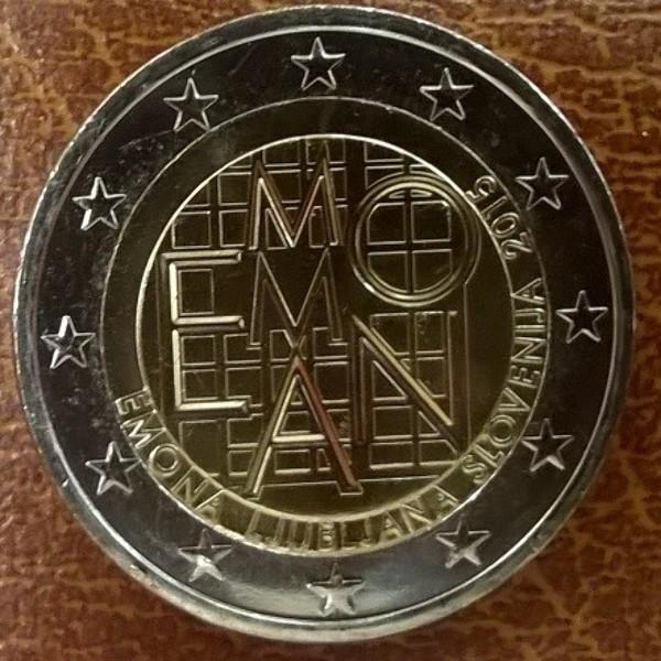 2 Euro Slowenien 2015 EMONA
